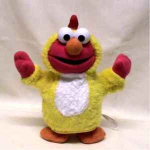Sesame Street Chicken Dance Elmo Costume Plush Fun ♥