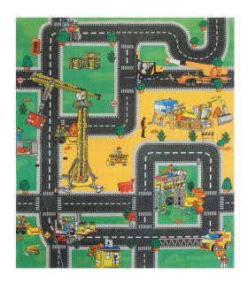 Play Mat Road Rug Car Boys Kids Children Grip Fire Engine Construction
