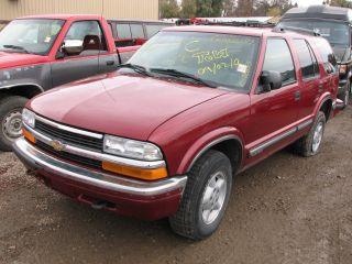 1999 Chevrolet S10 Blazer Transfer Case Control Module