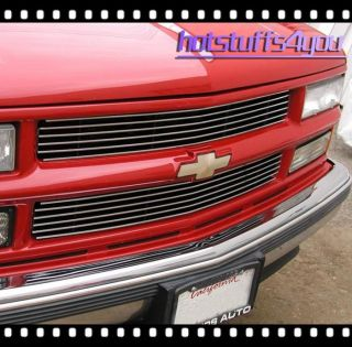1994 1998 Chevy C K 1500 2500 3500 Pickup Truck Billet Grille Grill