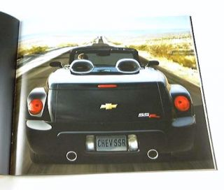 2004 04 Chevrolet Chevy SSR Truck Brochure