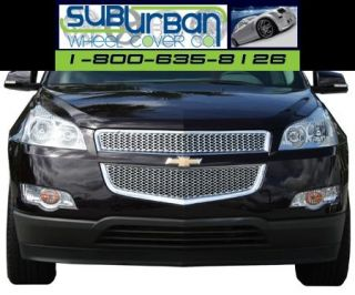 09 11 Chevy Traverse Chrome Plastic Grille Insert New