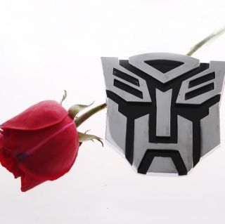 Autobot Logo Emblem 3D Decal Sticker Car Cool Cheap Collectible