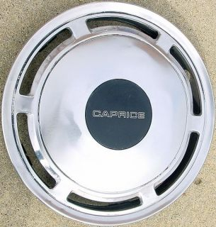 86 93 Chevrolet Caprice 15 3168A Hubcap Wheel Cover Part # 12522925