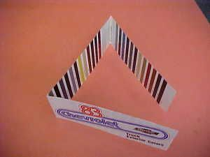 1983 Chevrolet El Camino Truck Paint Chip Colors 83