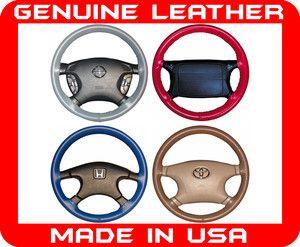 Chevrolet Corvette Wheelskins Genuine Leather Steering Wheel Cover