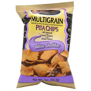 Multigrain Pita Chips 24 2oz (56.7g) Bags White Cheddar Snacks / Foods