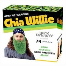 Chia Willie Duck Dynasty Willie Robertson Beard Chia Pet