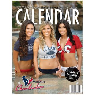 Houston Texans 2011 2012 Cheerleader Swimsuit Calendar