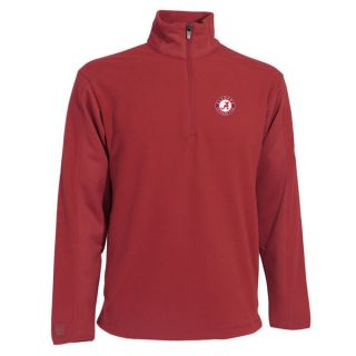 Alabama Crimson Tide Cardinal Frost Quarter Zip Fleece Jacket