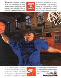 Charles Barkley Air Delta Force Shoes 1989 Ad