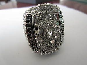 2010 CHICAGO BLACKHAWKS NHL STANLEY CUP CHAMPIONSHIP RING 11 size