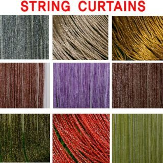 Sequin String Curtains Door Window Drapes Panel Wall Divider Spangle