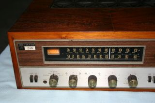 Vintage Fisher Tune O Matic 250 TX Am FM Stereo Receiver 250T