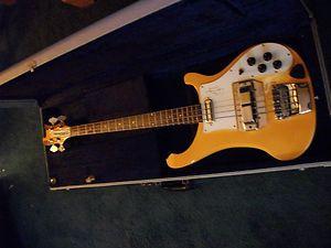 1991 Rickenbacker Chris Squire Ltd Edition 4001CS Bass Guitar