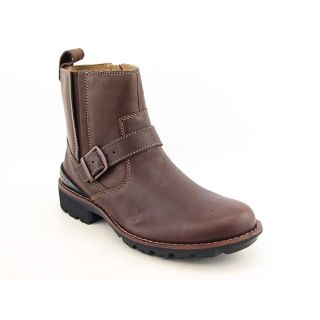 Clarks Chilton Mens Sz 11 Brown Boots Motorcycle Shoes