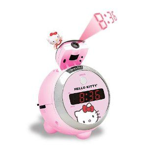 Hello Kitty Projection Clock Radio Spectra KT2054