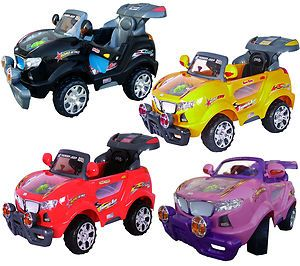 New Kids Ride on Car Battery Power Electric Car Remote Control Wheels