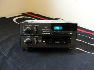 92 96 DELCO CHEVY CORSICA BERETTA CASSETTE AM FM STEREO RADIO
