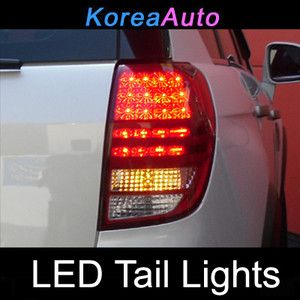 Chevrolet Captiva LED Tail Lights Rear Lamp 1 1 Replacemen 2009 2010