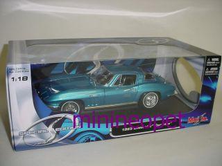 description model 1965 chevrolet corvette stingray 1 18 opening hood