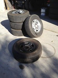 Chevy Tahoe Aluminum Wheels with Tires Set of 5