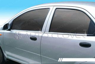 Chrome Window Sill Belt Trim for 02 06 Suzuki Swift 4D