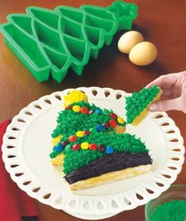 Christmas Tree Take Apart Silicone Cake Baking Pan for Cakes