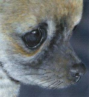Original Artist Chihuahua Dog Mouse Pad Kimbearlys