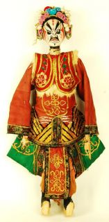 chinese opera doll the tradition of chinese puppetry originated during
