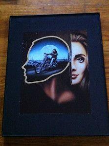 David Mann Art Wheres Charlie? Easyriders Print Harley Davidson H D