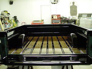 Oak Wood Short bed Chevy Truck Pickup 65 66 67 68 1965 1966 1967 1968