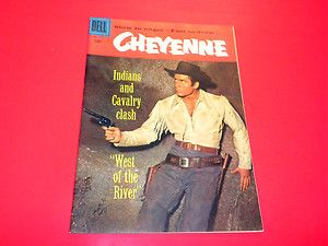 Cheyenne 772 Dell Four Color Clint Walker TV Western
