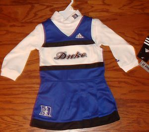 Duke Blue Devils NCAA Infant Cheerleader Jumper Dress