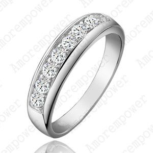 Gorgeous 18K White Gold Plated Jewelry Use Swarovski Crystal Wedding