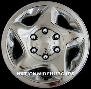 16 Toyota Chrome Wheel Skins Hub Caps Rim Skin Covers