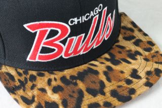 Chicago Bulls Snapback Cheetah Vintage Swag Snapback Tisa Don C RSVP