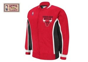Chicago Bulls Mitchell Ness NBA Authentic Warmup Jacket Sz 56