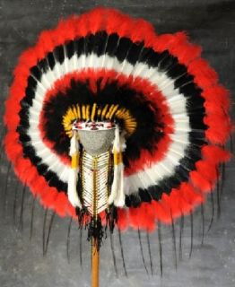Native American Choctaw War Bonnet Headdress