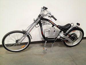 Chopper Electric Bike Beach Cruiser 500W 48V Raw Bicycle 25 mph up to