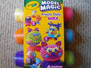 Model Magic Presto Dots Creature Monster Puddy Mold Kids Art Craft Kit