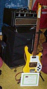1991 Chris Squire Rickenbacker Bass   Player Condition