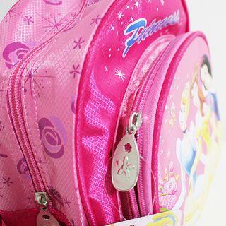 Girl Disney Princess 10 Shoulder Backpack School Bag Gift for Child