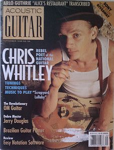 Acoustic Guitar Magazine September 1998 Chris Whitley