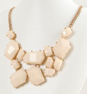 Girls Jewelry Bib Chunky Choker Statement Fashion Necklace
