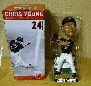Arizona Diamondbacks Chris Young Bobblehead MLB with Box