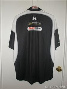 Max Papis Sport Clips Honda Cheever Racing IndyCar Race Used Crew