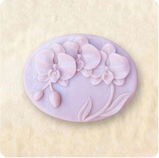 1pc Orchid Silicone Soap Mold Craft Molds DIY Handmade Soap 50145
