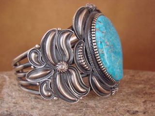 Sterling Silver Turquoise Bracelet by Kirk Smith Stunning Quality