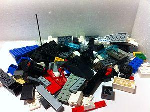 Bulk Lego Lot 100 Pieces Fun Mix w/CAR PARTS WHEELS TIRES STEERING